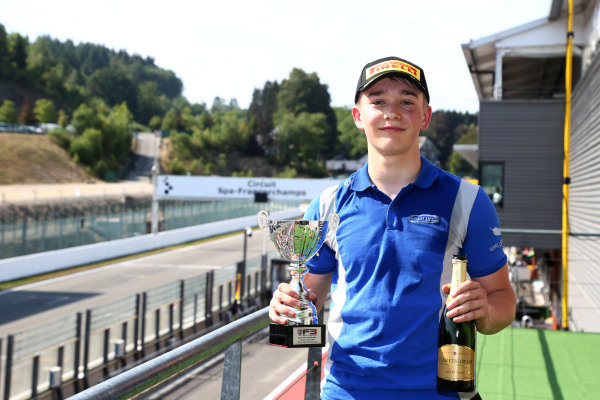 All the action from the British Formula 3 round at Spa.