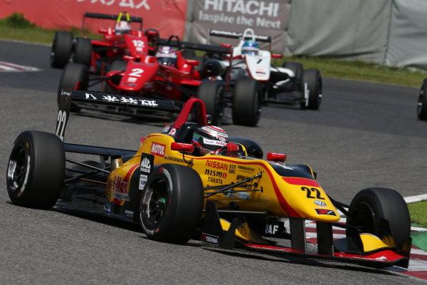 2016 Japanese Formula 3 Championship. Suzuka, Japan. 23rd - 24th April 2016. Rd 1 & 2. Rd. 2 3rd position Jann Mardenborough ( #22 B-MAX NDDP F3 ) action. World Copyright: Masahide Kamio / LAT Photographic. Ref: 2016JF3_Rd1&2_13