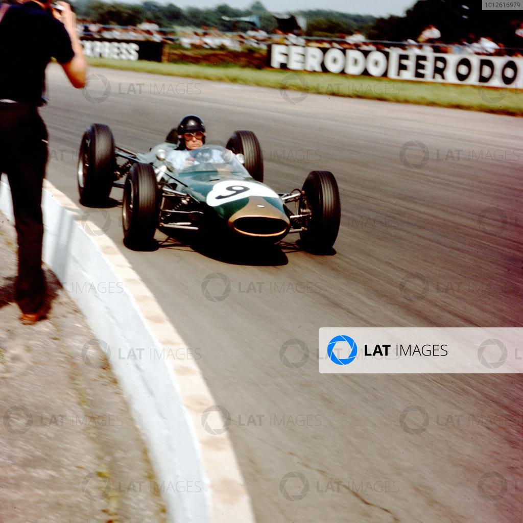 Silverstone, England.18-20 July 1963.Dan Gurney (Brabham BT7 Climax).Ref-3/0999.World copyright - LAT photographic