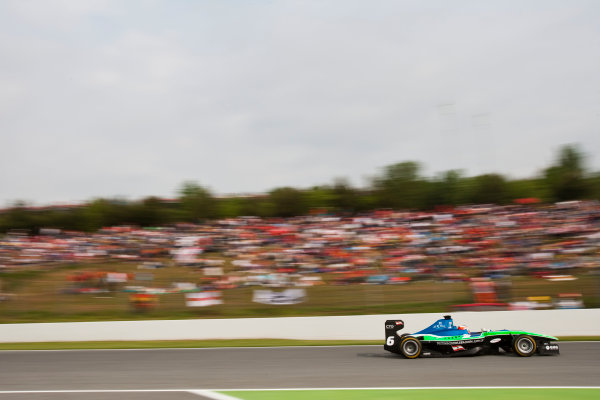 Circuit de Catalunya, Spain. 9th May 2010. Sunday Race. Daniel Morad, (CAN, Status Grand Prix). Action. Photo: Drew Gibson/GP3 Media Service. Digital Image _Y2Z8234