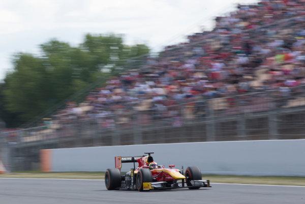 2017 FIA Formula 2 Round 2. Circuit de Catalunya, Barcelona, Spain. Sunday 14 May 2017. Louis Deletraz (SUI, Racing Engineering)  Photo: Jed Leicester/FIA Formula 2. ref: Digital Image JL1_0320