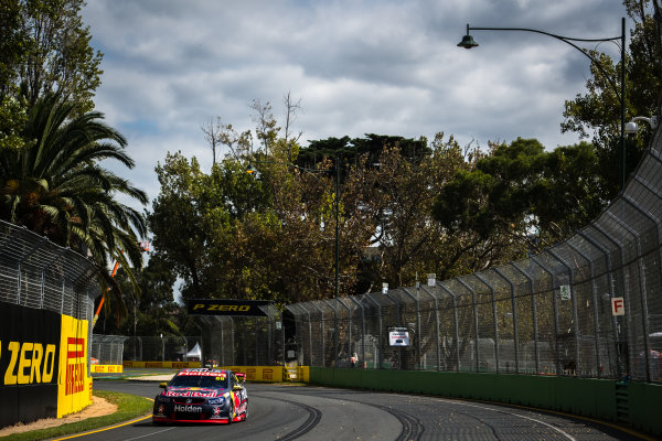 2017 Supercars Championship, Australian Grand Prix Support Race, Albert Park, Victoria, Australia. Thursday March 23rd to Sunday March 26th 2017. Jamie Whincup drives the #88 Red Bull Holden Racing Team Holden Commodore VF. World Copyright: Daniel Kalisz/LAT Images Ref: Digital Image 230217_VASCAUSGP_DKIMG_0324.JPG
