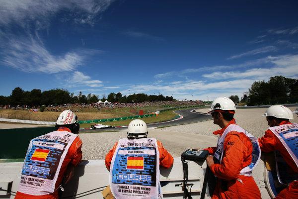 Circuit de Catalunya, Barcelona, Spain. Saturday 13 May 2017. Lance Stroll, Williams FW40 Mercedes. World Copyright: Charles Coates/LAT Images ref: Digital Image DJ5R7506