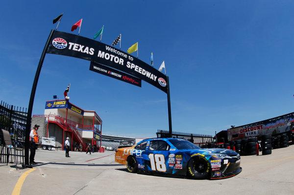 2017 NASCAR Xfinity Series My Bariatric Solutions 300 Texas Motor Speedway, Fort Worth, TX USA Friday 7 April 2017 Daniel Suarez, Juniper Toyota Camry World Copyright: Matthew T. Thacker/LAT Images ref: Digital Image 17TEX1mt1146