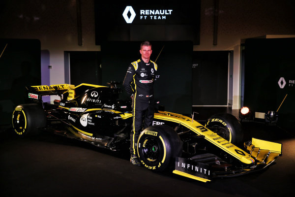 Nico Hulkenberg, Renault Sport F1 Team with the new Renault Sport F1 Team R.S. 19