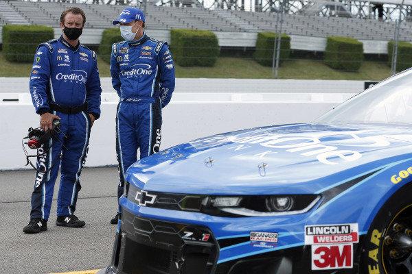 #42: Matt Kenseth, Chip Ganassi Racing, Chevrolet Camaro Credit One Bank