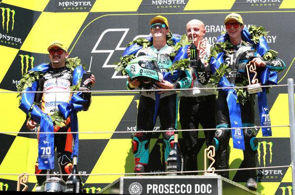Aron Canet, Max Racing Team, Marcos Ramirez, Leopard Racing, Celestino Vietti, Sky Racing Team VR46.