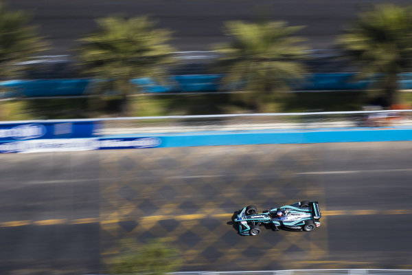 2017/2018 FIA Formula E Championship Round 4 - Santiago ePrix Santiago, Chile Saturday 03 February 2018 Mitch Evans (NZL), Panasonic Jaguar Racing, Jaguar I-Type II. Photo: Sam Bloxham/LAT/Formula E