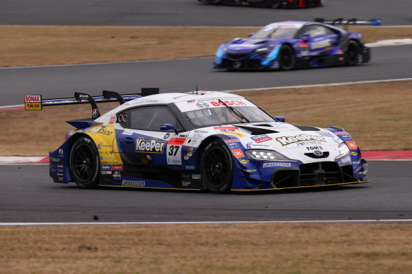 Ryo Hirakawa & Kenta Yamashita ( #37 KeePer TOM'S GR Toyota Supra ), 2nd position