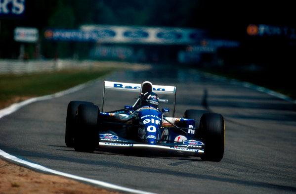 1994 German Grand Prix.Hockenheim, Germany.29-31 July 1994.Damon Hill (Williams FW16B Renault) 8th position.Ref-94 GER 12.World Copyright - LAT Photographic