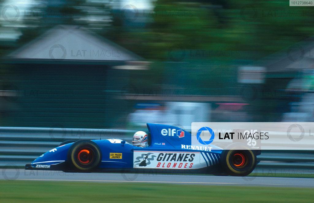 1993 Canadian Grand Prix.