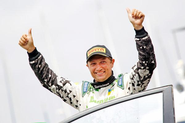 2015 World Rally Championship Rally d'Italia Sardegna 11th - 14th June 2015 Yuri Protasov, Ford, winner WRC2  Worldwide Copyright: McKlein/LAT