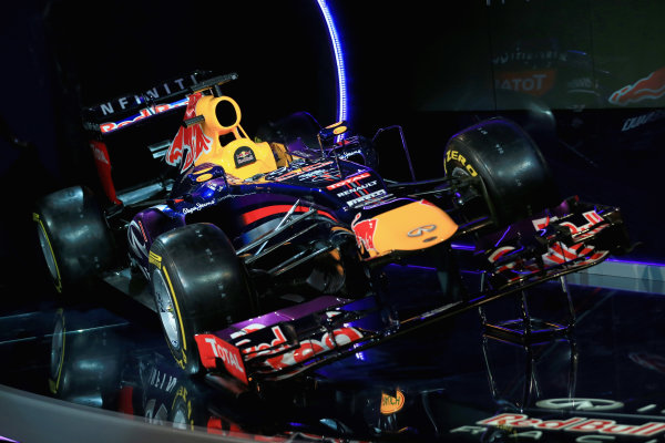 Milton Keynes, UK   The new Infiniti Red Bull Racing RB9 Photo: Richard Heathcote/Getty Images/Red Bull Racing () ref: Digital Image 160597187_10