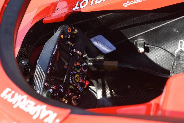 Ferrari SF-71H steering wheel