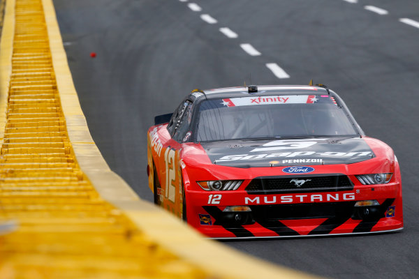 NASCAR Xfinity Series Hisense 4K TV 300 Charlotte Motor Speedway, Concord, NC USA Thursday 25 May 2017 Ryan Blaney, Snap-On Ford Mustang World Copyright: Lesley Ann Miller LAT Images