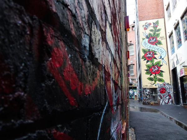 Melbourne, Australia Tuesday 21 March 2017. Melbourne street art Photo: Sam Bloxham/LAT ref: Digital Image DSC00052