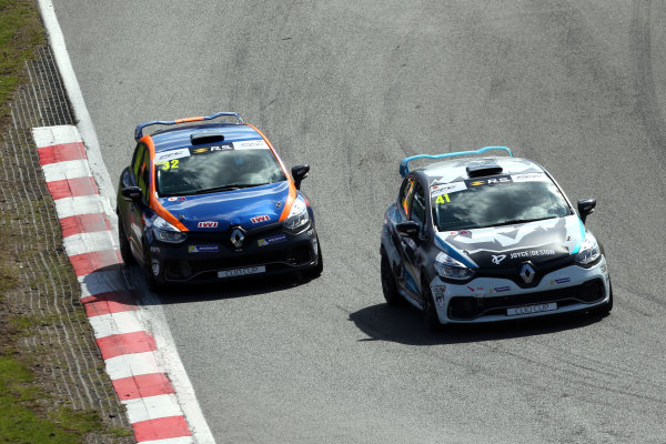 2017 Renault Clio Cup Brands Hatch, 1st-2nd April 2017 Aaron Thompson (GBR)  World Copyright. JEP/LAT Images