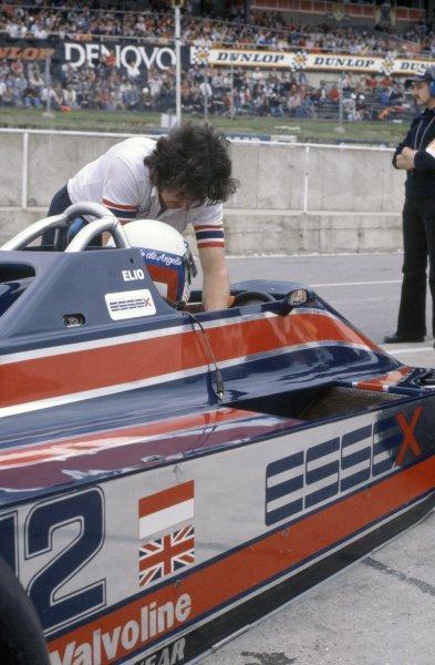 1980 British Grand Prix.Brands Hatch, Great Britain. 11-13 July 1980.Elio de Angelis (Lotus 81-Ford Cosworth), retired.World Copyright: LAT PhotographicRef: 35mm transparency 80GB07