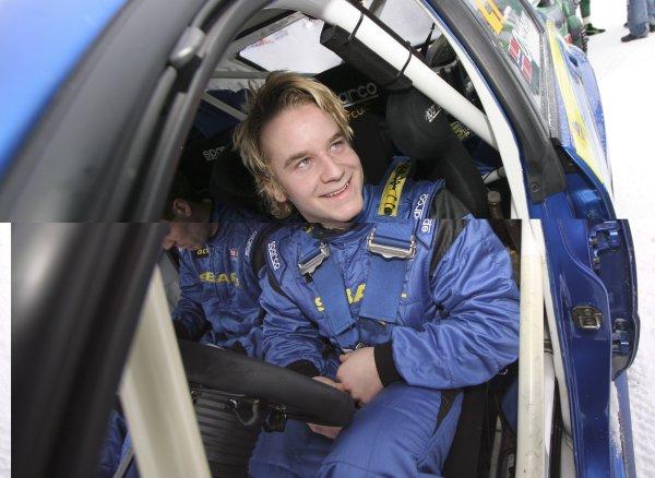 2007 FIA World Rally Championship,Round 2 Swedish Rally 8th-11th February 2007,Mads Ostberg, Subaru, portrait.Worldwide Copyright McKlein/LAT.