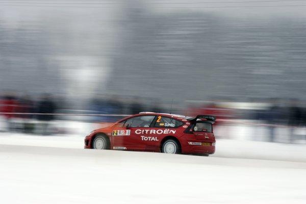 2007 FIA World Rally ChampionshipRound 3Rally of Norway 200715th - 18th February 2007Daniel Sordo, Citroen, PortraitWorldwide Copyright: McKlein/LAT
