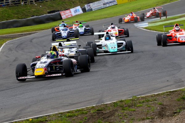 2016 British Formula 4 Championship, Knockhill, Scotland. 12th - 14th August 2016. Luis Leeds (AUS) TRS Arden Ford British F4. World Copyright: Ebrey / LAT Photographic.