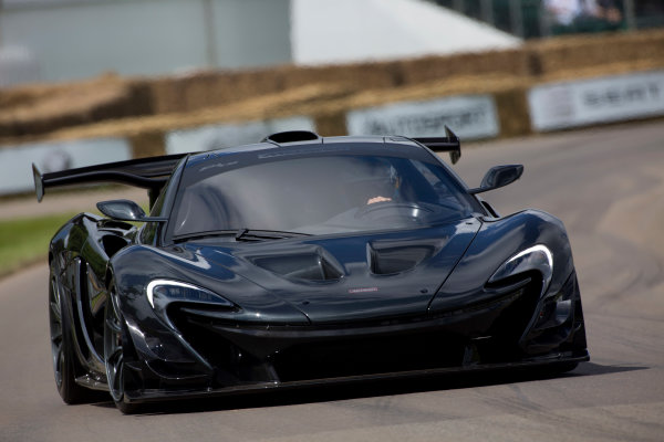 2016 Goodwood Festival of Speed Goodwood Estate, West Sussex, England. 23rd - 26th June 2016. Kenny Brack McLaren P1 LM World Copyright : Al Staley / LAT Photographic Ref : 585A0786