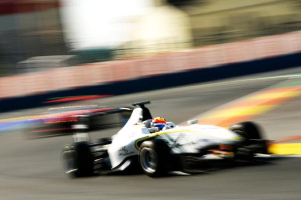 Round 3. Valencia, Spain. 27th June 2010.Sunday Race.Tobias Hegewald, (GER, RSC Mucke Motorsport). Portrait. World Copyright: Drew Gibson/GP3 Media Service.Digital Image _Y8P8971