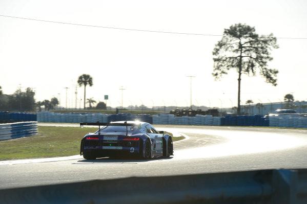 24-25 February, 2016, Sebring, Florida USA 9, Audi, R8 LMS GT3, GTD, Kenny Habul, Boris Said, Dion von Moltke, Tristan Vautier ©2016, Richard Dole LAT Photo USA
