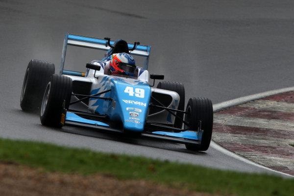 2016 BRDC British Formula 3 Championship, Brands Hatch, Kent. 16th - 17th April 2016. Thomas Randle (AUS) Douglas Motorsport BRDC F3. World Copyright: Ebrey / LAT Photographic.