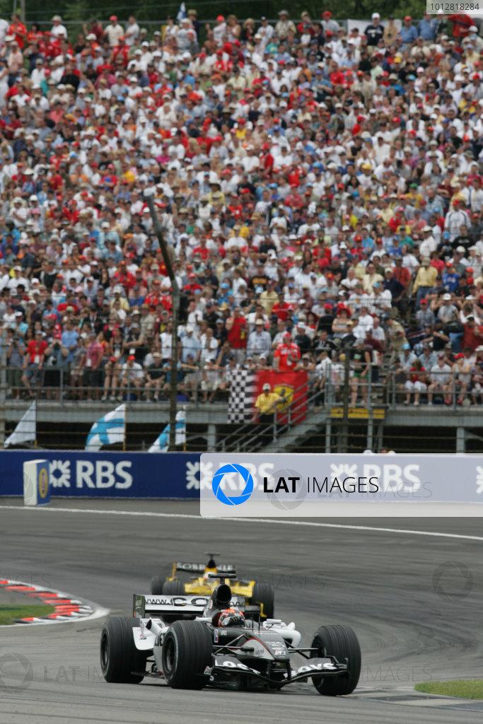 2005 United States Grand Prix - Sunday Race,