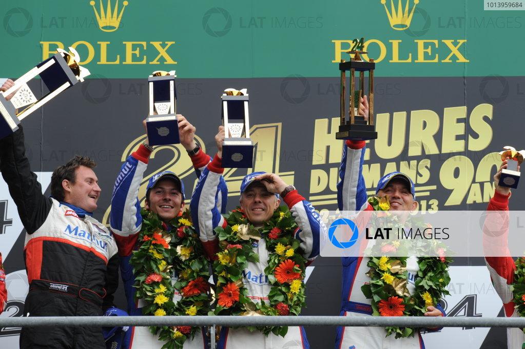 Circuit de La Sarthe, Le Mans, France. 21st-23rd June 2013.  World Copyright: Jeff Bloxham/LAT Photographic ref: Digital Image DSC_9812