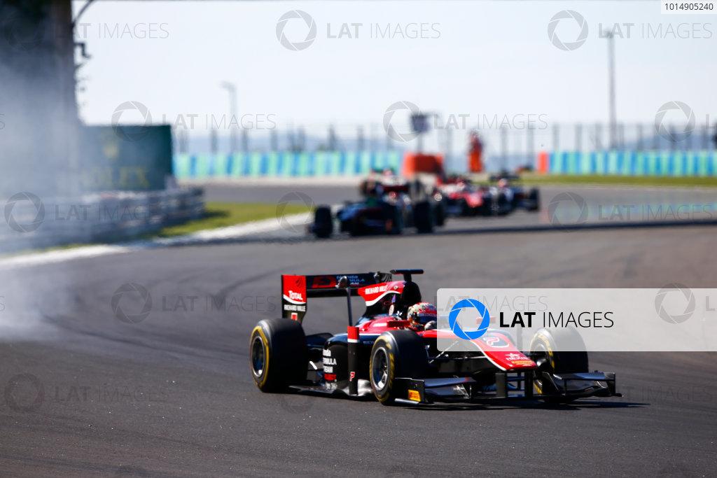 Hungaroring, Budapest, Hungary. Saturday 29 July 2017 Nobuharu Matsushita (JPN, ART Grand Prix).  Photo: Hone/FIA Formula 2 ref: Digital Image _ONZ9751