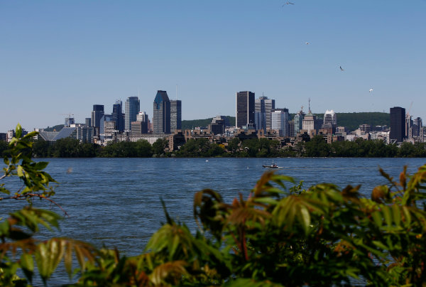 Circuit Gilles Villeneuve, Montreal, Canada. Thursday 08 June 2017. The Montreal skyline. World Copyright: Andy Hone/LAT Images ref: Digital Image _ONY2460