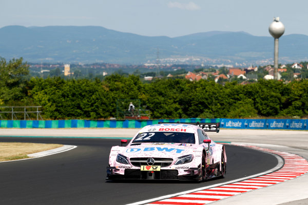 2017 DTM Round 3 Hungaroring, Budapest, Hungary. Sunday 18 June 2017. Lucas Auer, Mercedes-AMG Team HWA, Mercedes-AMG C63 DTM World Copyright: Alexander Trienitz/LAT Images ref: Digital Image 2017-DTM-R3-HUN-AT1-1743