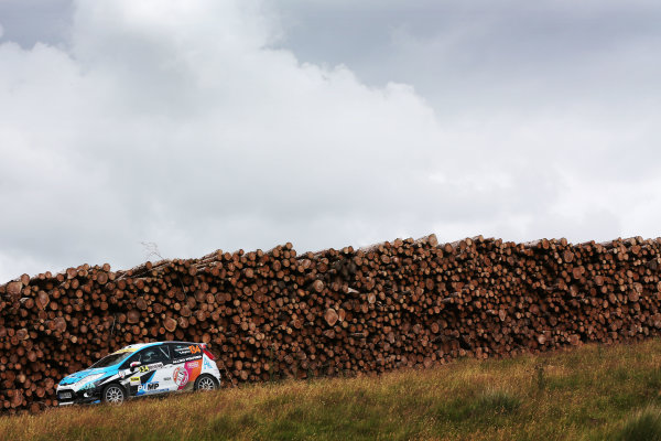 2017 British Rally Championship, Nicky Grist Stages, 8th-9th Juy 2017, Nabia Tepjar Ford Fiesta R2 World copyright. JEP/LAT Images