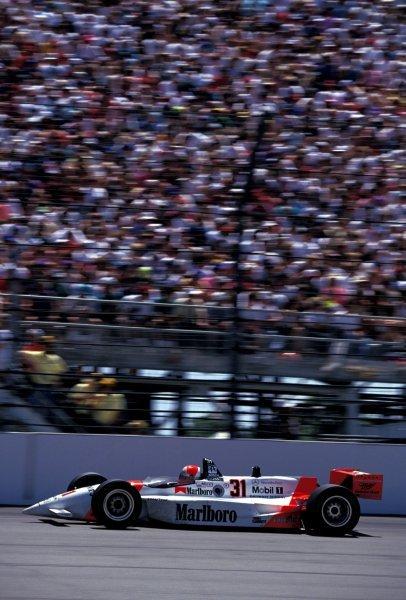 Race winner Al Unser Jr. (USA) Penske Mercedes PC23.PPG Indycar World Series, Rd4, Indianapolis 500, USA, 31 May 1994.BEST IMAGE