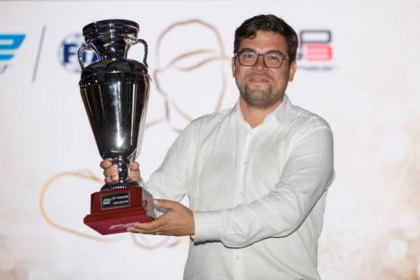 2017 Awards Evening. Yas Marina Circuit, Abu Dhabi, United Arab Emirates. Sunday 26 November 2017.  Photo: Zak Mauger/FIA Formula 2/GP3 Series. ref: Digital Image _56I3721
