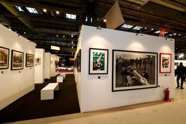 Autosport International Exhibition. National Exhibition Centre, Birmingham, UK. Thursday 11th January 2017. The LAT Stand.World Copyright: Ashleigh Hartwell/LAT Images Ref: _O3I7550