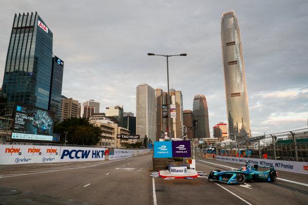 2017/2018 FIA Formula E Championship. Round 1 - Hong Kong, China. Saturday 02 December 2017. Antonio Felix Da Costa (POR), MS + AD Andretti Formula E, Andretti ATEC-03. Photo: Sam Bloxham/LAT/Formula E ref: Digital Image _J6I3777