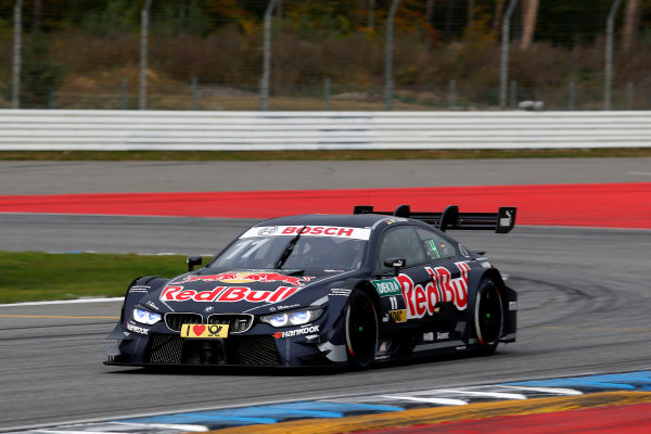 2017 DTM Round 9  Hockenheimring, Germany  Friday 13 October 2017. Marco Wittmann, BMW Team RMG, BMW M4 DTM  World Copyright: Alexander Trienitz/LAT Images ref: Digital Image 2017-DTM-HH2-AT2-0234