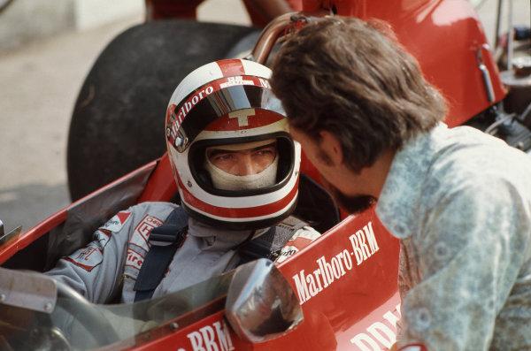 1973 Italian Grand Prix.  Monza, Italy. 7-9th September 1973.  Clay Regazzoni, BRM P160E.  Ref: 73ITA14. World copyright: LAT Photographic