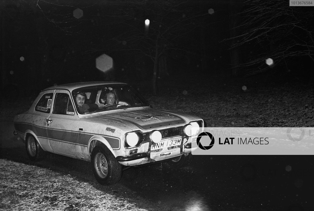 Servais Rally, North Norfolk. 5th - 6th April 1975.