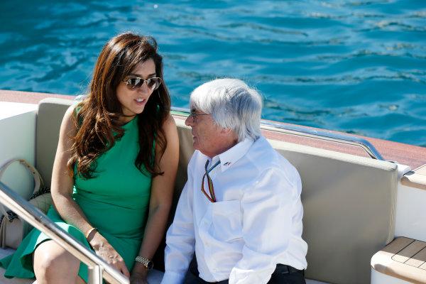 Monte Carlo, Monaco. Saturday 24 May 2014. Bernie Ecclestone, CEO and President, FOM. World Copyright: Charles Coates/LAT Photographic. ref: Digital Image _J5R2247