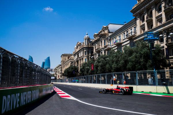 2017 FIA Formula 2 Round 4. Baku City Circuit, Baku, Azerbaijan. Friday 23 June 2017. Sergey Sirotkin (RUS, ART Grand Prix)  Photo: Zak Mauger/FIA Formula 2. ref: Digital Image _54I9445