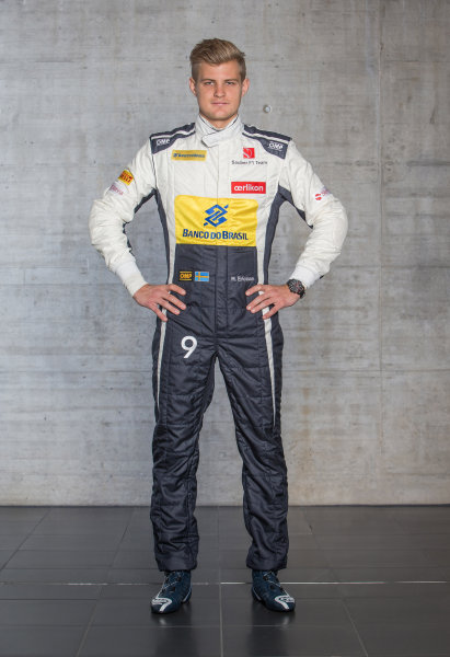 Sauber C34 Reveal. Hinwil, Switzerland. Thursday 29 January 2015. Marcus Ericsson. Photo: Sauber F1 Team (Copyright Free FOR EDITORIAL USE ONLY) ref: Digital Image 20150130_Marcus_Ericsson_Front