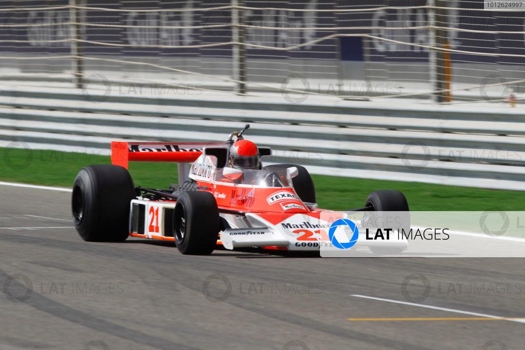 2010 Bahrain Grand Prix - Champions Parade