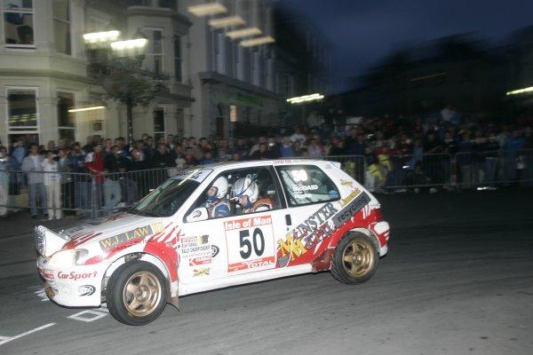 2006 British Rally Championship,Manx Rally, Isle of Man, 3rd-5th August 2006,Andrew Bushe,World copyright: Ebrey/LAT Photographic.