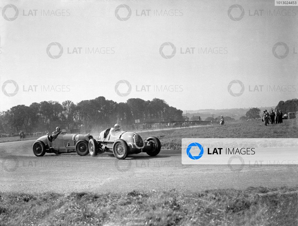 1936 Donington Grand PrixDonington Park, England. 3 October 1936.
