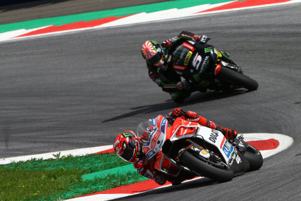 2017 MotoGP Championship - Round 11 Spielberg, Austria Sunday 13 August 2017 Jorge Lorenzo, Ducati Team World Copyright: Gold and Goose / LAT Images ref: Digital Image 686909