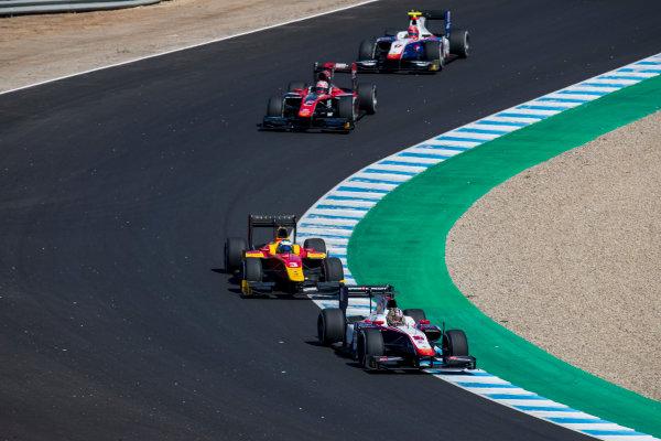2017 FIA Formula 2 Round 10. Circuito de Jerez, Jerez, Spain. Sunday 8 October 2017. Nabil Jeffri (MAS, Trident).  Photo: Zak Mauger/FIA Formula 2. ref: Digital Image _56I7651